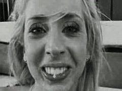 Моника Матос, на лицето, латинки, празнене