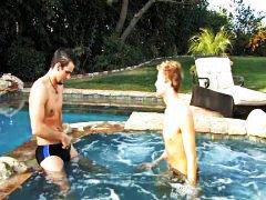 гей, кур, басейн, анално