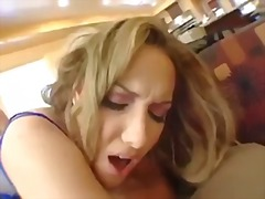 blonde, threesome, double fucking, anal, gets, double, fucked, face fucked, from, gaping hole