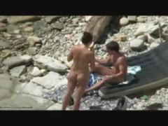 мъж, плаж, голи жени, аматьори