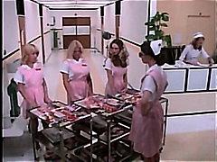 медицински сестри, празнене, яко ебане, пръсти