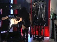 leder, fetish, dominanz, sklave, asien, mistress