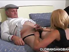 трио, масов секс, стари млади