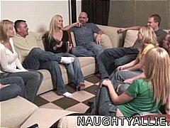 gattin, group, hausfrau, swinger, party, amateur, orgie
