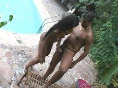 латинки, двойка, басейн, анално