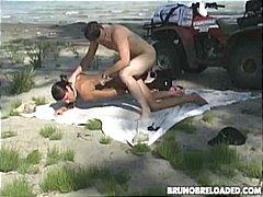 сред природата, аматьори, плаж