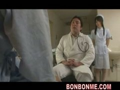 fucked, threesome, groupsex, nurse patient, blo, nurse, doctor, patient, asian