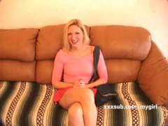 домашно видео, пръсти, възбудени, блондинки
