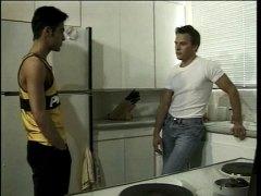 кухня, гей, латинки, анално
