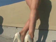Лекси Бел, гълтане, свирки, тийнейджъри, блондинки