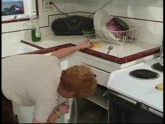 кухня, бабички, възрастни, класика