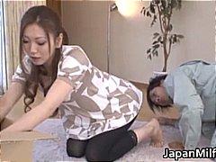 милф, японки, възрастни, красиви, найлон