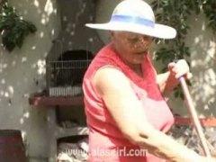 възрастни, задна прашка, бабички, свирки, публично