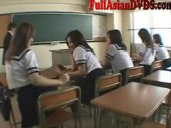 азиатки, игра, японки, момичета, учител