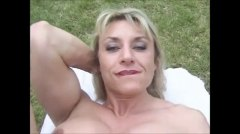 milfs, muscled, big, mature, matures, blowjobs, clit, outdoors