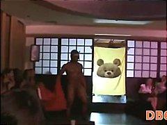 групов секс, жена гол мъж, момичета, парти, свирки