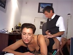 hardcore, gets, office, german, group, big tits, sexy, ass, hammered, secretary