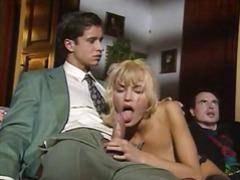 групов секс, празнене, четворка, ретро
