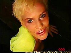 blond, spermadusche, deutsch, schlucken, blowjob, hardcore, orgie, lecken