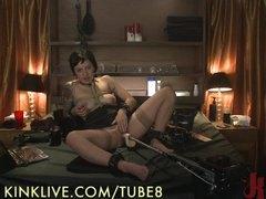camgirl, kinklive, machine, live, fucking, solo, fetish, masturbation