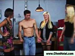 доминация, садо-мазо, мъж, лице, жена гол мъж