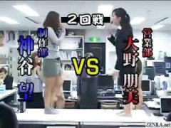 female, workout, stripper, rock, scissors, group, party, game, play, japanese