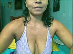 mature, boobs, saggy, toys, webcam, wife, plump, snatch, milf, latina
