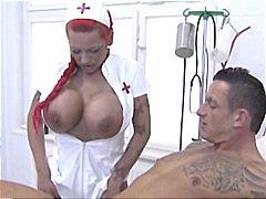 униформа, медицински сестри, червенокоси