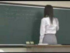 ученички, японки, чукане отзад, учител, азиатки