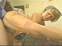 乱交, おばあちゃん, 女1男2の3p, 興奮, イケメン男, ティーン