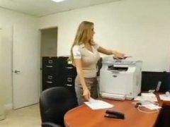 Megan Jones, office, ass, big tits, megan jones, cumshot, busty, doggystyle, secretary, blonde