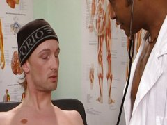 gay, doctor, dick, interracial, anal, horny