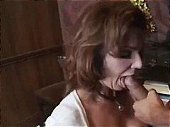 съпруга, близане, дълбоко в гърлото, голям бюст