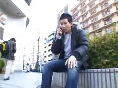 अधेड़ औरत, वीर्य निकालना, जापानी