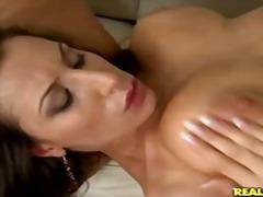 мастурбация, брюнетки, големи цици, групов секс