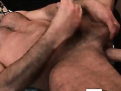ejaculation interne, anal, poilues, ours, pipes, oral, gay, branler