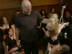 Madison Scott, julkinen, pervo, juhla, raju seksi, piiskaus, fetissi, sitomisleikit, orja, bdsm