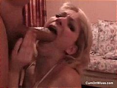 домашно видео, милф, свирки, блондинки, на лицето