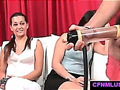दबंग औरत, ढंकी महिला नंगा मर्द, लंड