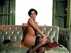german, shaved, pornstar, solo girl, big tits, lingerie, striptease
