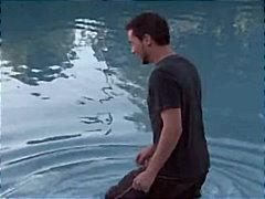 Дилън Райдър, големи цици, милф, двойка, басейн