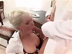 pornstar, anal, garter, lingerie-videos.com, office, cumshot, stockings, secretary, blonde