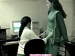 couple, lesbian, sex, amateur, caught, office, softcore, on, latino, nude
