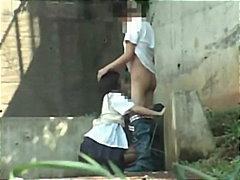 homemade, amateur, panties, fingering, hidden, blowjob, schoolgirl, public, asian, outdoor