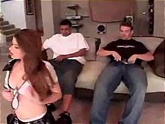 брюнетки, на лицето, групов секс, порно звезди