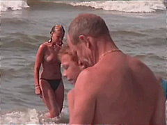 beach, outdoor, hidden, big, voyeur, compilation, tits