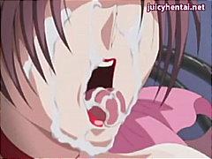 запушена уста, оргия, лице, анимация, аниме