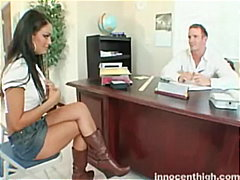 Angelina Valentine, close-up, tattoo, angelina valentine, teacher, reality, spanking, panties