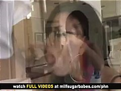Ева Анджелина, брюнетки, очила, милф, яки мацки