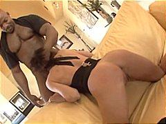Сесилия Вега, трио, междурасово, порно звезди